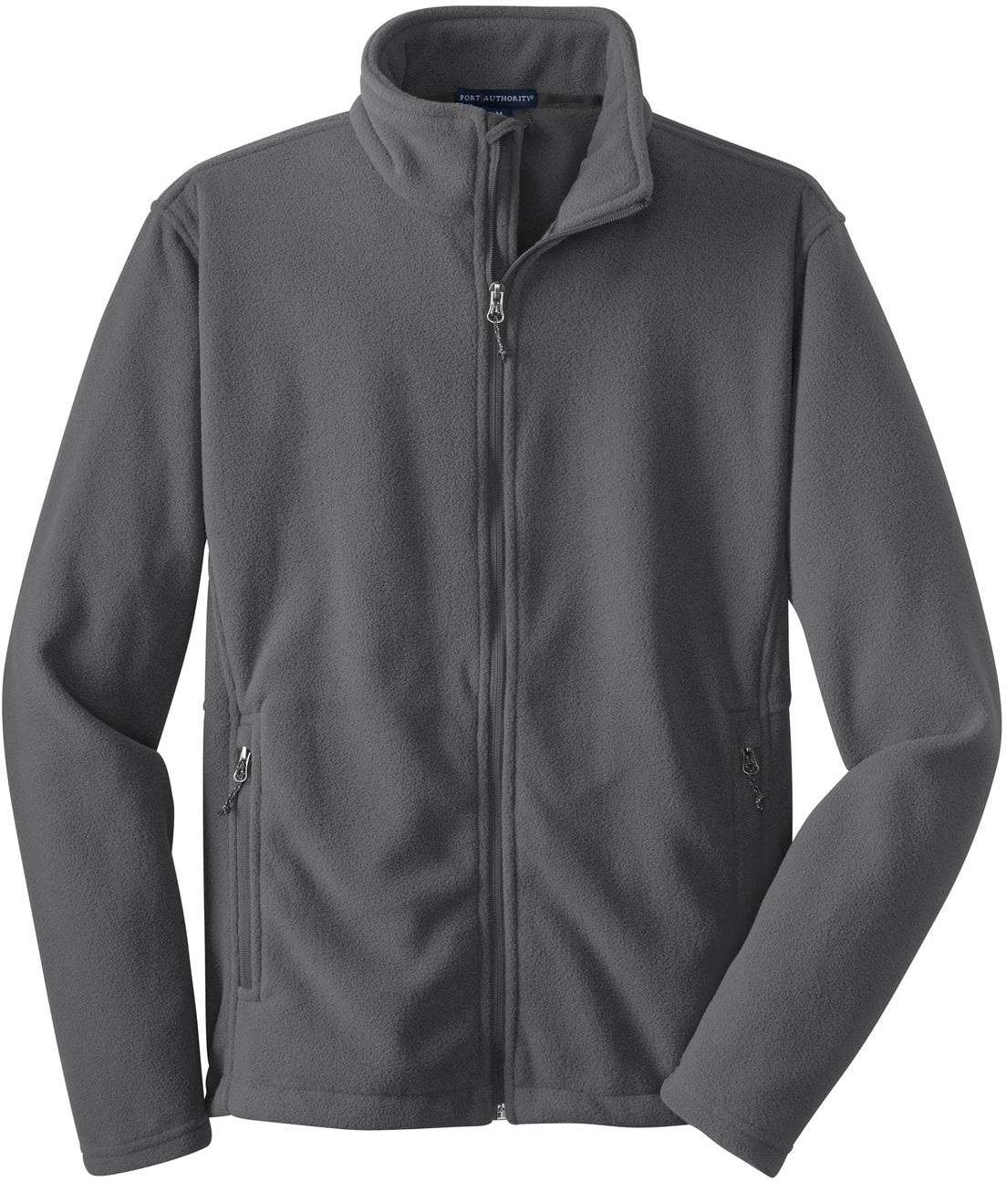 Port Authority-Value Fleece Jacket-S-Iron-Thread Logic
