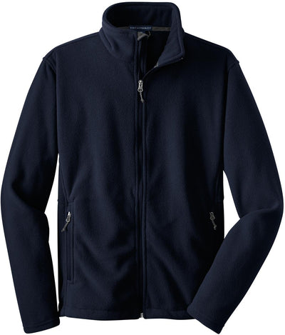 Port Authority-Value Fleece Jacket-S-Navy-Thread Logic