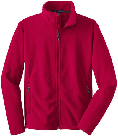 Port Authority-Value Fleece Jacket-S-Red-Thread Logic