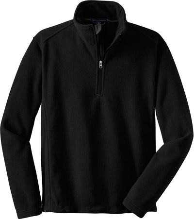 Port Authority-Value Fleece 1/4 Zip Pullover-S-Black-Thread Logic