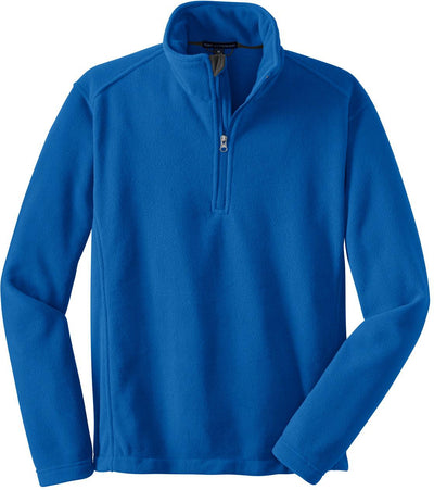 Port Authority-Value Fleece 1/4 Zip Pullover-S-True Royal-Thread Logic