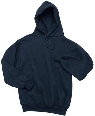 Port Authority-Super Heavyweight Hooded Sweatshirt-S-Navy-Thread Logic
