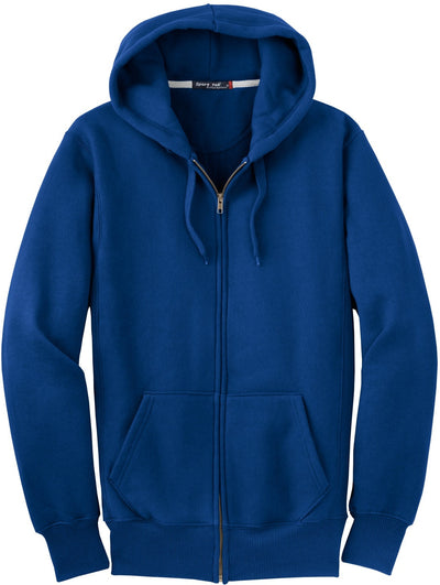 Port Authority-Heavyweight Full Zip Sweatshirt-S-Royal-Thread Logic