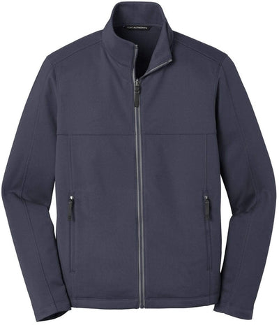 Port Authority-Collective Smooth Fleece Jacket-XS-River Blue-Thread Logic