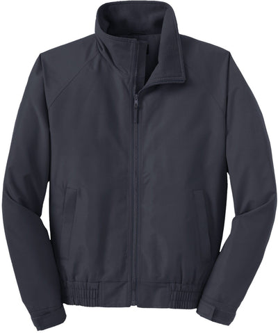 Port Authority-Lightweight Charger Jacket-S-Battleship Grey-Thread Logic