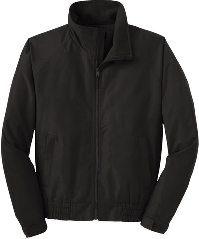 Port Authority-Lightweight Charger Jacket-S-True Black-Thread Logic