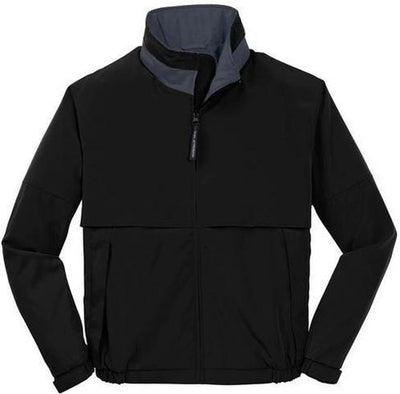 Port Authority-Legacy Jacket-S-Black/Steel Grey-Thread Logic