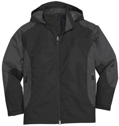 Port Authority-Endeavor Jacket-S-Black/Gunmetal-Thread Logic