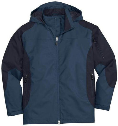 Port Authority-Endeavor Jacket-S-Insignia Blue/Navy-Thread Logic