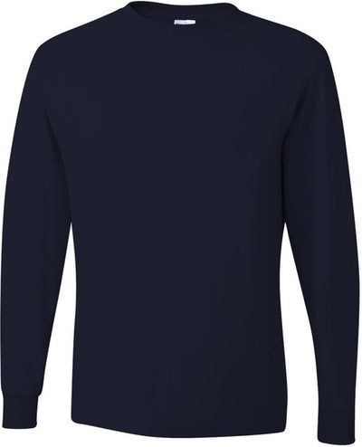 Jerzees Dri-Power 50/50 Cotton/Poly Long Sleeve T-Shirt-OUTLET