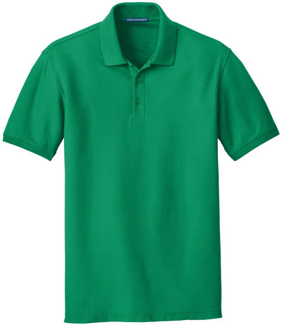 Port Authority-Core Classic Pique Polo-S-Bright Kelly Green-Thread Logic