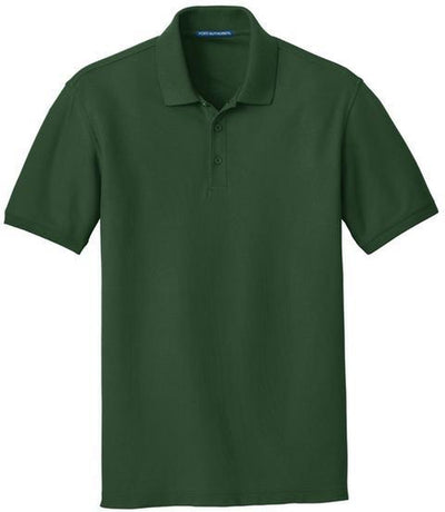 Port Authority-Core Classic Pique Polo-S-Deep Forest-Thread Logic