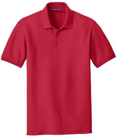 Port Authority-Core Classic Pique Polo-S-Rich Red-Thread Logic