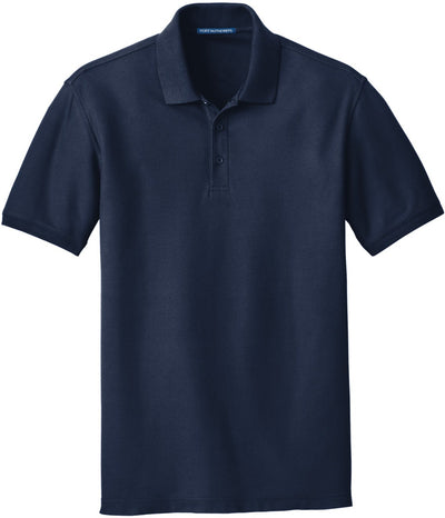 Port Authority-Core Classic Pique Polo-S-River Blue Navy-Thread Logic