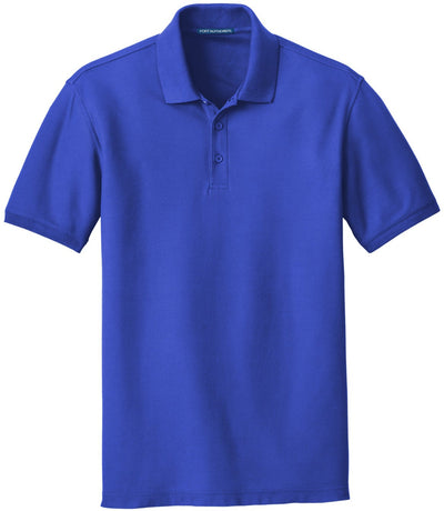 Port Authority-Core Classic Pique Polo-S-True Royal-Thread Logic