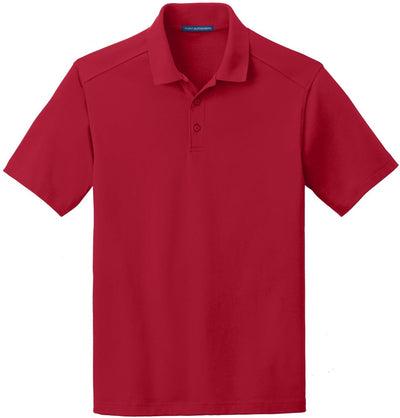 Port Authority-SuperPro Knit Polo-S-Rich Red-Thread Logic