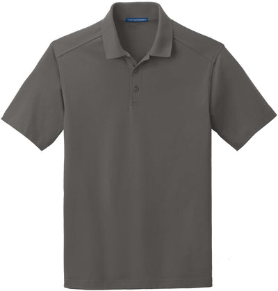 Port Authority-SuperPro Knit Polo-S-Sterling Grey-Thread Logic