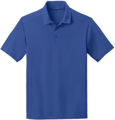 Port Authority-SuperPro Knit Polo-S-True Blue-Thread Logic