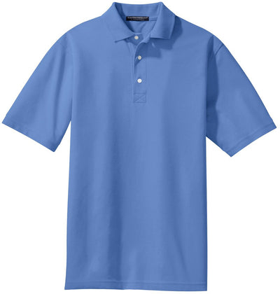 Port Authority-Rapid Dry Polo Shirt-S-Riviera Blue-Thread Logic