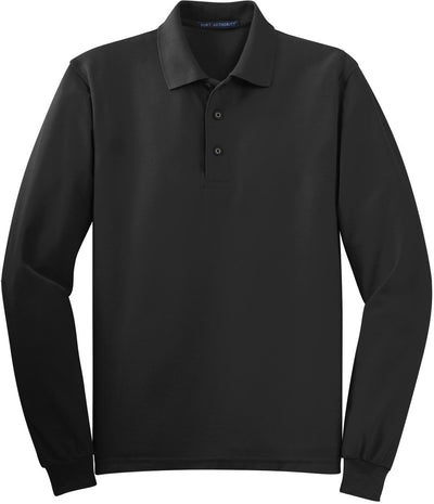 Back Silk Touch Long Sleeve Polo