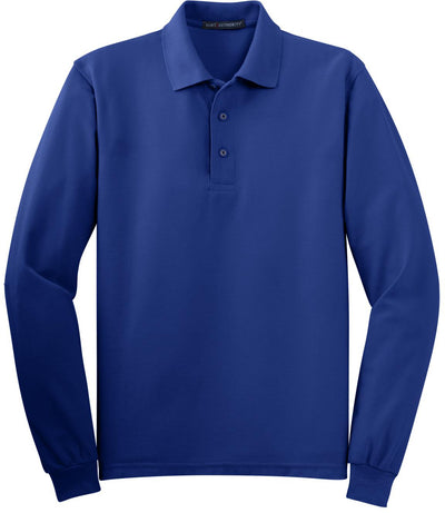 Royal Silk Touch Long Sleeve Polo