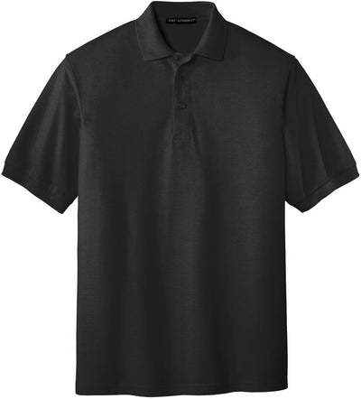 Port Authority-Silk Touch Polo-S-Black-Thread Logic