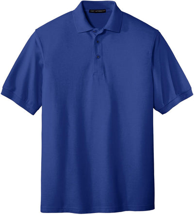 Port Authority-Silk Touch Polo-S-Royal-Thread Logic