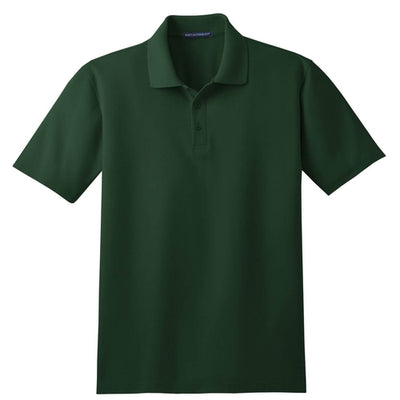 Port Authority-Tall Stain-Resistant Polo Shirt-LT-Dark Green-Thread Logic