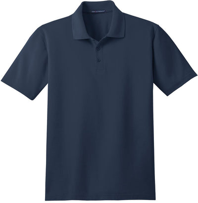 Port Authority-Stain-Resistant Polo Shirt-S-Navy-Thread Logic