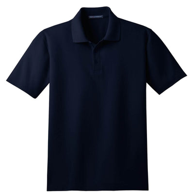 Port Authority-Tall Stain-Resistant Polo Shirt-LT-Navy-Thread Logic