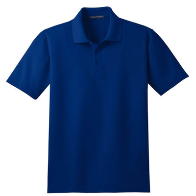 Port Authority-Tall Stain-Resistant Polo Shirt-LT-Royal-Thread Logic