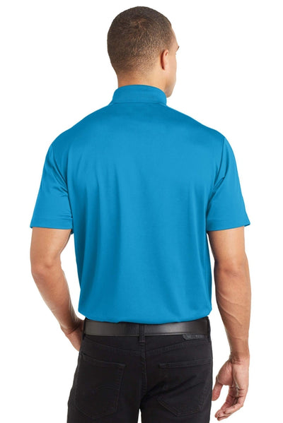 Port Authority-Diamond Jacquard Polo-Thread Logic no-logo