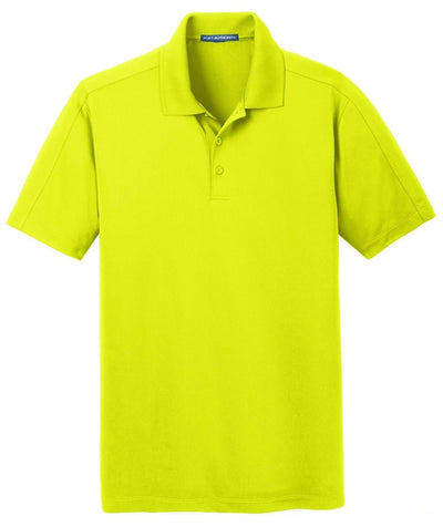 Port Authority-Diamond Jacquard Polo-S-Citron Green-Thread Logic