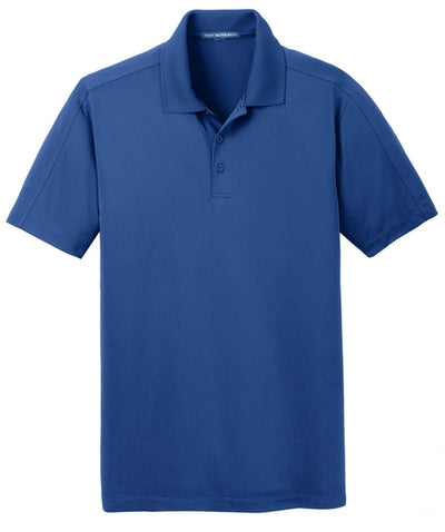 Port Authority-Diamond Jacquard Polo-S-True Blue-Thread Logic