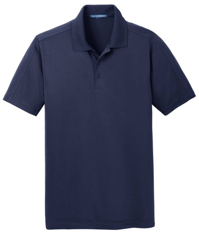Port Authority-Diamond Jacquard Polo-S-True Navy-Thread Logic