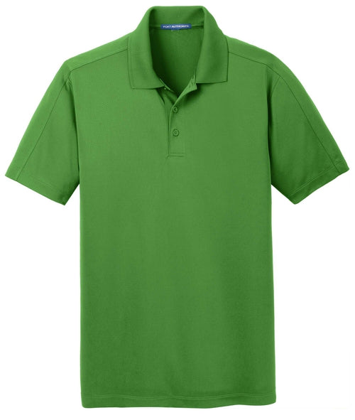 Port Authority-Diamond Jacquard Polo-S-Vine Green-Thread Logic