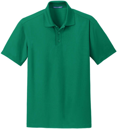 Port Authority-Dry Zone Grid Polo-S-Jewel Green-Thread Logic