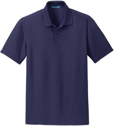 Port Authority-Dry Zone Grid Polo-S-True Navy-Thread Logic