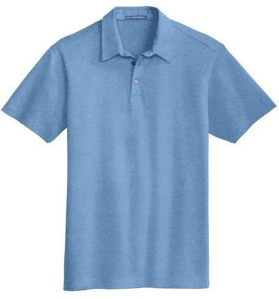 Port Authority-Meridian Cotton Blend Polo Shirt-S-Blue Skies-Thread Logic
