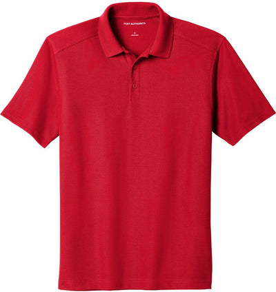 Port Authority-EZPerformance Pique Polo-XS-Apple Red-Thread Logic