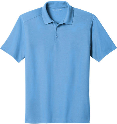 Port Authority-EZPerformance Pique Polo-XS-Carolina Blue-Thread Logic