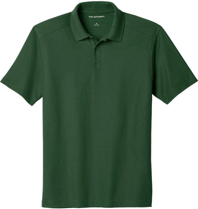 Port Authority-EZPerformance Pique Polo-XS-Deep Forest Green-Thread Logic