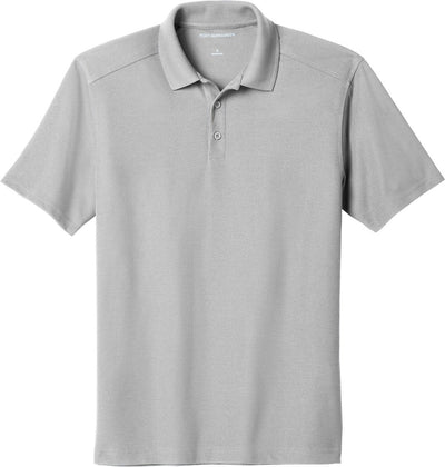 Port Authority-EZPerformance Pique Polo-XS-Gusty Grey-Thread Logic