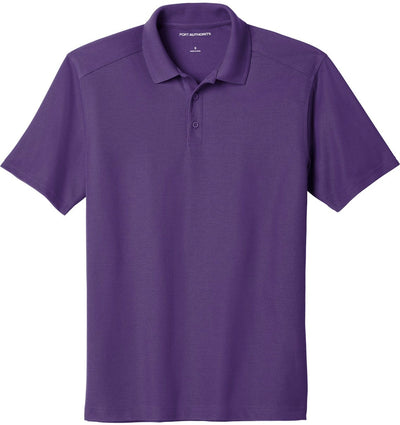 Port Authority-EZPerformance Pique Polo-XS-Majestic Purple-Thread Logic