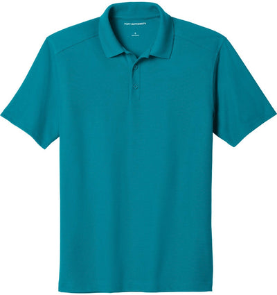 Port Authority-EZPerformance Pique Polo-XS-Teal-Thread Logic