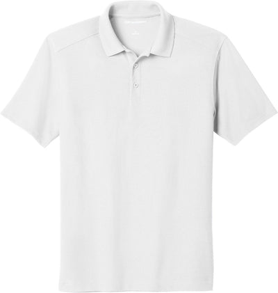 Port Authority-EZPerformance Pique Polo-XS-White-Thread Logic