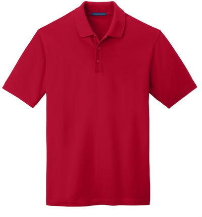 Port Authority-EZCotton Pique Polo Shirt-S-Apple Red-Thread Logic