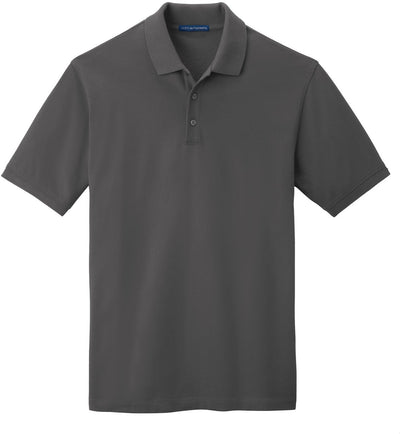 Port Authority-EZCotton Pique Polo Shirt-S-Sterling Grey-Thread Logic