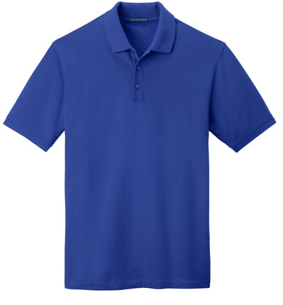 Port Authority-EZCotton Pique Polo Shirt-S-True Royal-Thread Logic