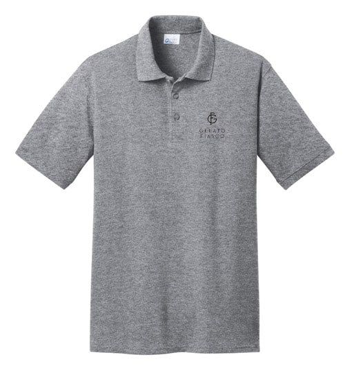 Port Authority-50/50 Pique Polo Shirt-S-Purple-Thread Logic